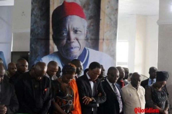 chinua achebe funeral
