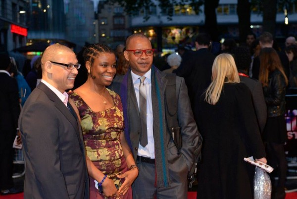 Victor Ehikhamenor london premiere half of a yellow sun