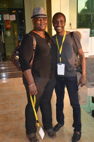 Àyọdélé Morocco-Clarke and Tolu Ogunlesi
