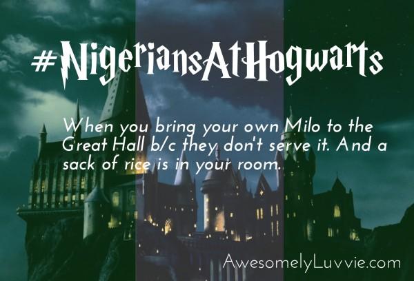 NigeriansAtHogwarts