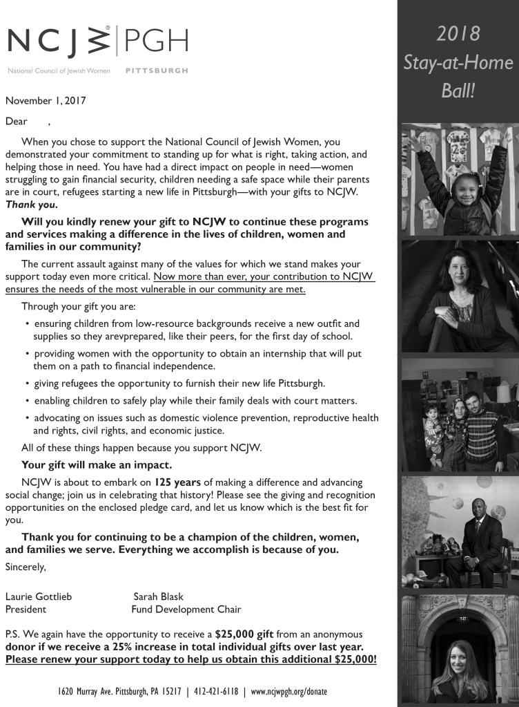 end of year letter snapshot