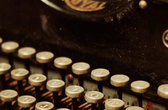 typewriter slide