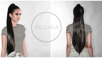 Bellami hair extensions review brittwd bellami ponytail extensions pmusecretfo Image collections