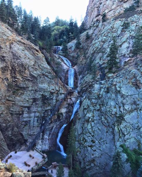 Colorado Springs was full of beautiful natural creations, including Seven Falls Waterfall.