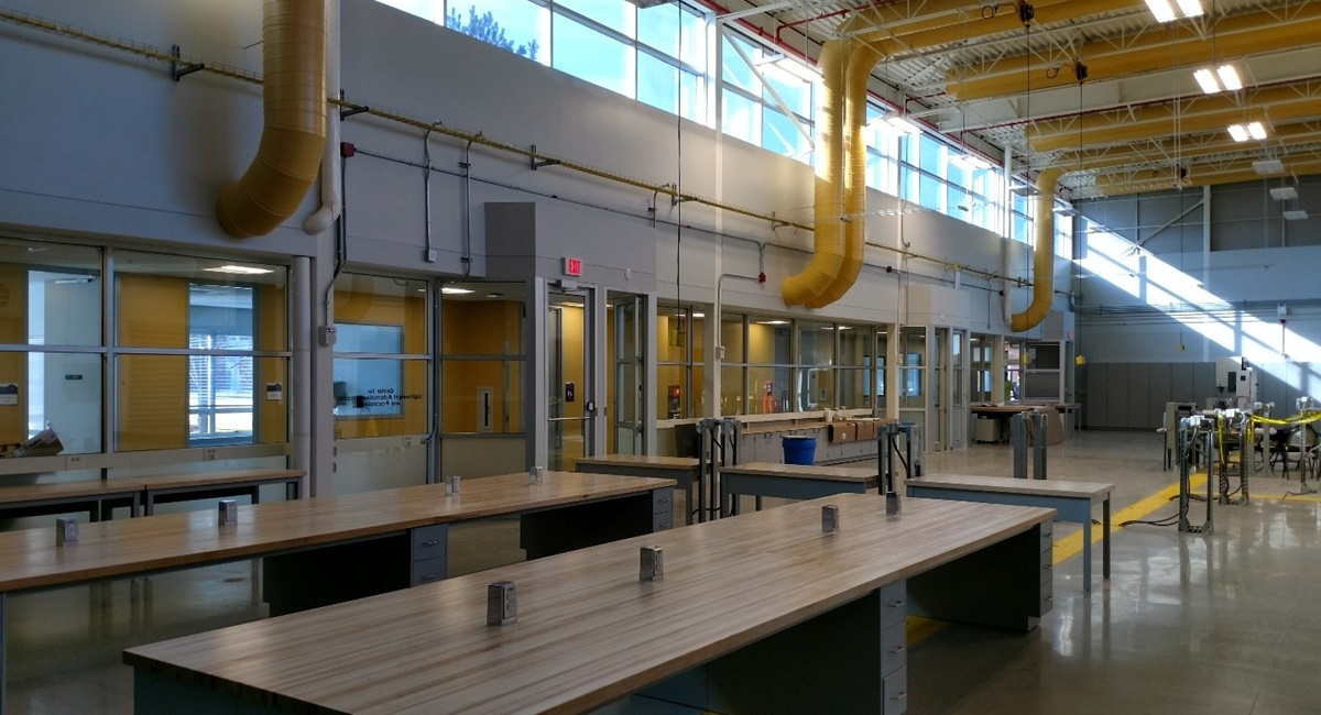 University Of Michigan Dearborn Manufacturing Systems Engine Lab Renovation Brix Corporation