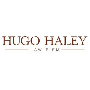 Hugo Haley law firm brand identity