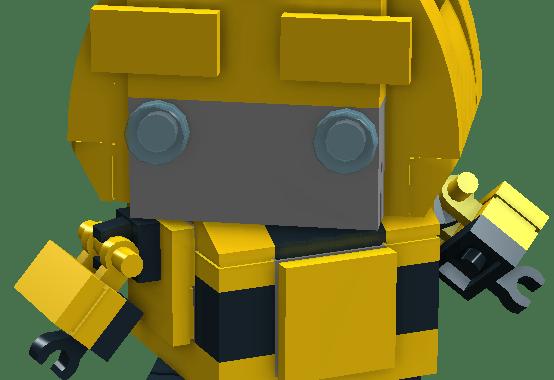 Custom Brickheadz Bumblebee Pdfldd Instructions