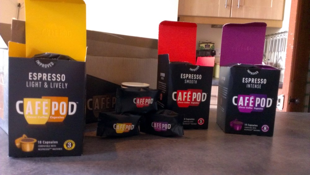 CafePod – Review (3/4)