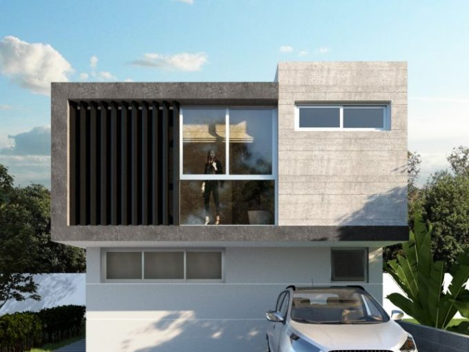 casa en veredas modelo b
