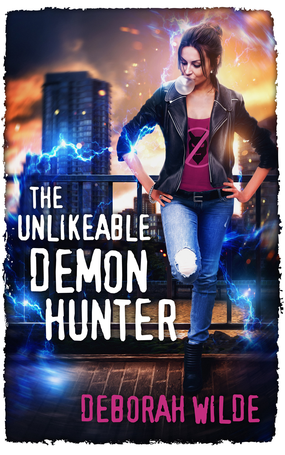 #BlogTour: The Unlikeable Demon Hunter by Deborah Wilde @wildeauthor @InkSlingerPR #Review #Giveaway