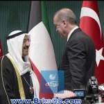 """الرئيس التركي اردوغان يقلد سمو الامير """"وسام الدولة"""" وسموه يقلده قلادة مبارك الكبير"""