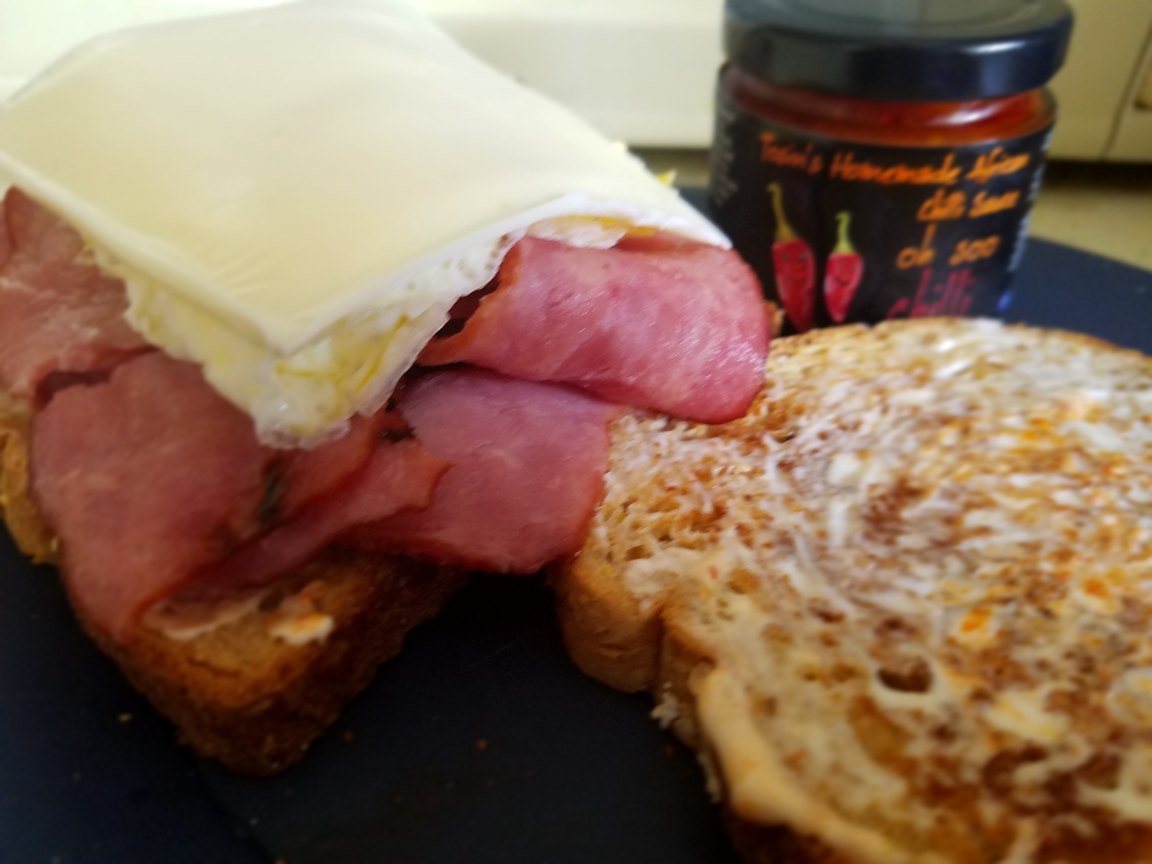 Turkey, Veggie Or Beef Bacon With Cheese And (Optional) Egg Sandwich