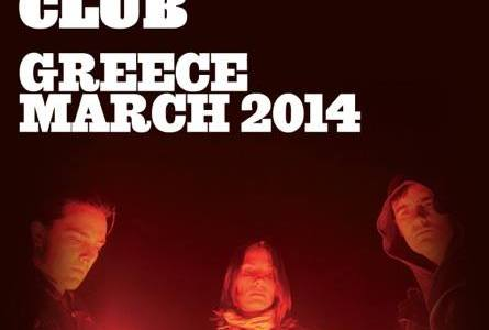 BRMC in Greece + Dead Combo supporting European...