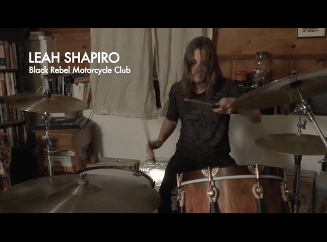 Leah Shapiro in The Drum Thing