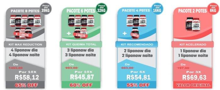Lipo Now Preços