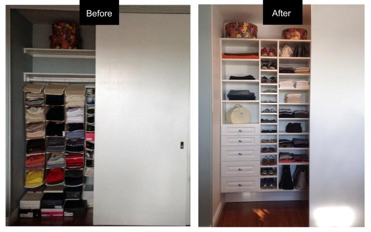 Left Closet