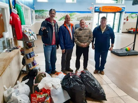 BRNSC 2019 winter clothing donations at Lighthouse Mission