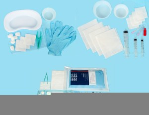 Sterile kit options