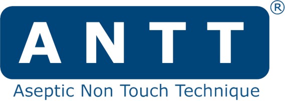 Aseptic No Touch Technique logo ....used internationally to protect people from health care associated infection