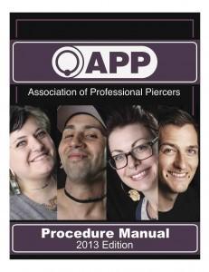 2013 app procedure manual cover