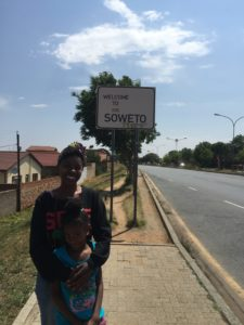 Headed to Soweto to visit Mandela's home, learn about the student protest of 1976, and the outdoor market.