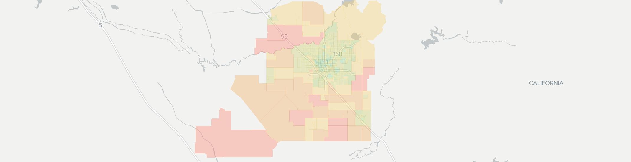 Comcast Coverage Map California