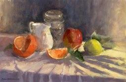 Jug and Fruit