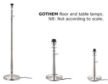 GOTHEM lamps