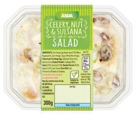 Asda Celery, Nut and Sultana Salad