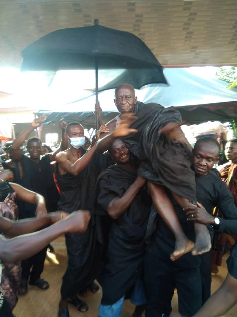 Mr.Kwaku Agyei Now Krontihene Of Atwima Foase