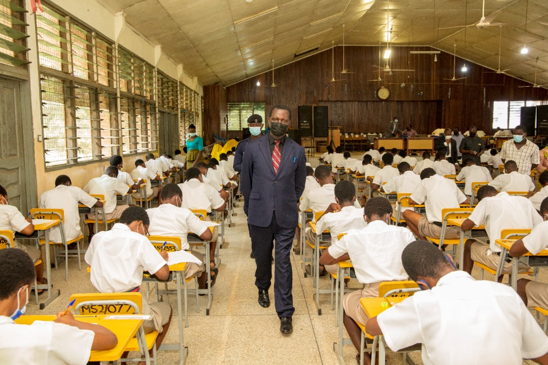 Education Minister Visits WASSCE Exams Centres