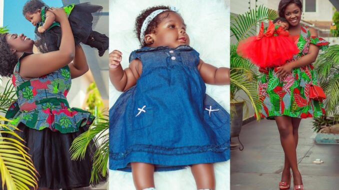 "BREAKING: Tracey Boakye Finally Reveals Her Daughter's Face And She Looks Exactly Like ""Papa No"" -SEE PHOTOS"