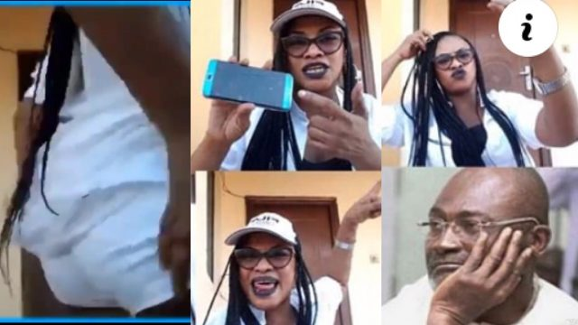 Kennedy Agyapong's Baby Mama Put Her Butt0cks On Display As She Invoke Curses -WATCH VIDEO