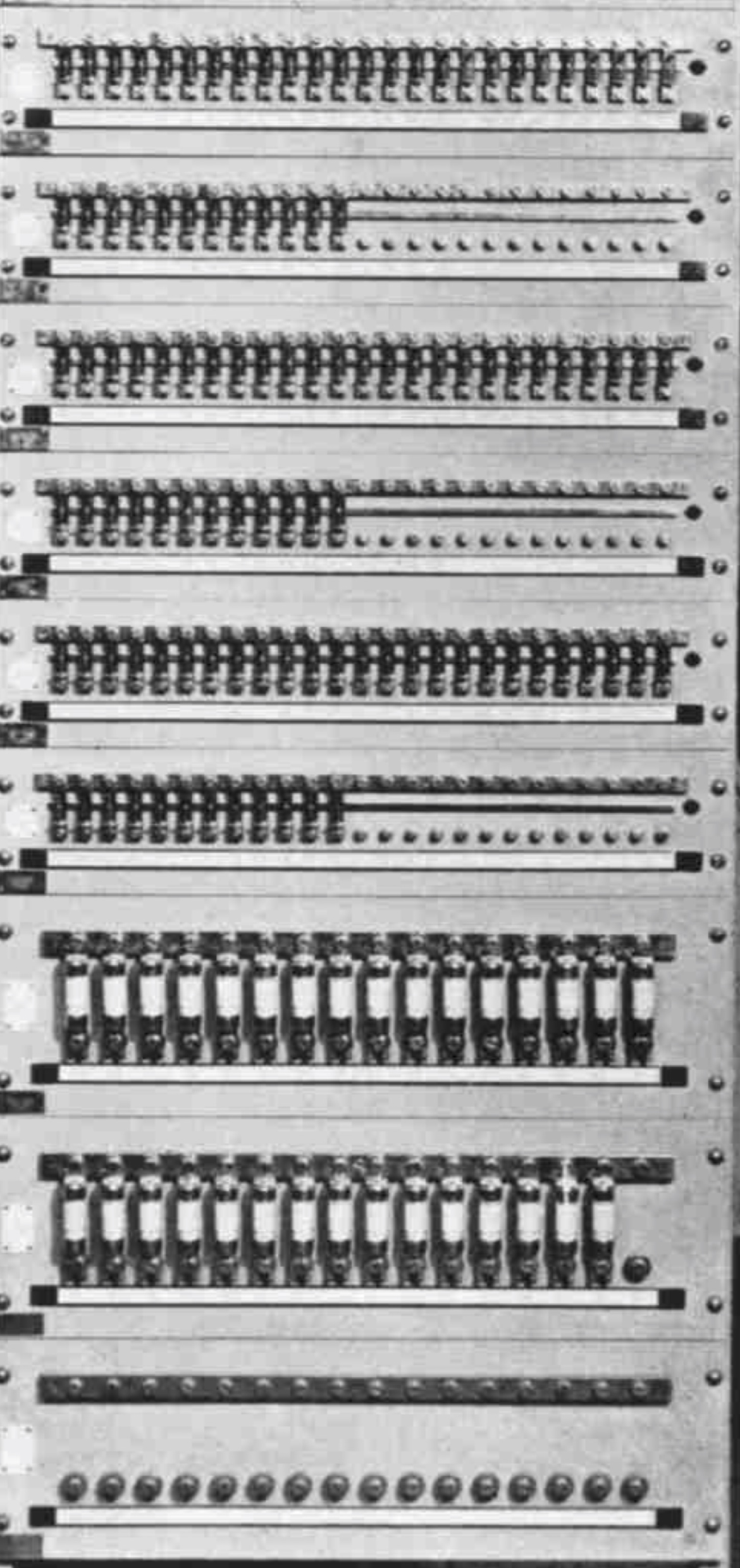 8 banks of fuses