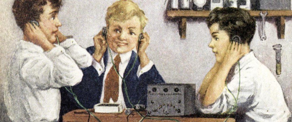 Radio Boys Artwork (Detail)