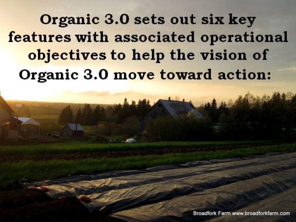 Vision for Organics