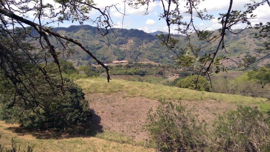 The Hacienda Buenavista in the distance