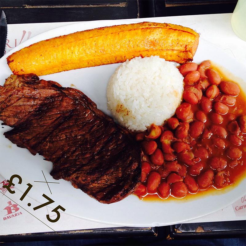 Cheap food in Bogotá