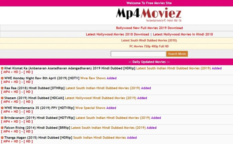 Mp4Moviez Alternative For Movie4me