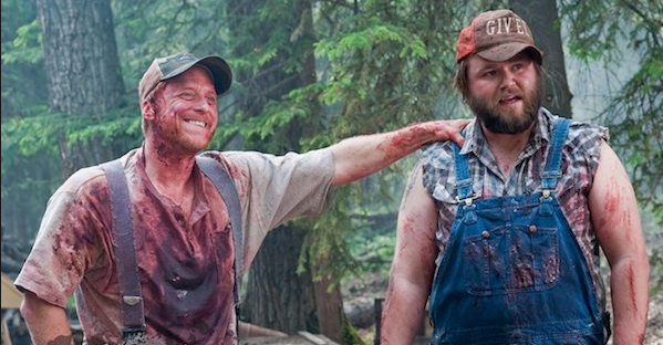 Image result for tucker and dale vs evil""