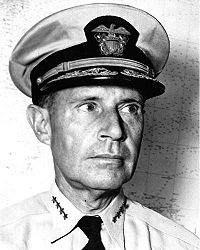 Admiral Ray Spruance