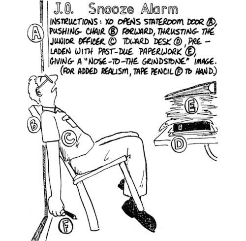 pain snooze alarm sB63