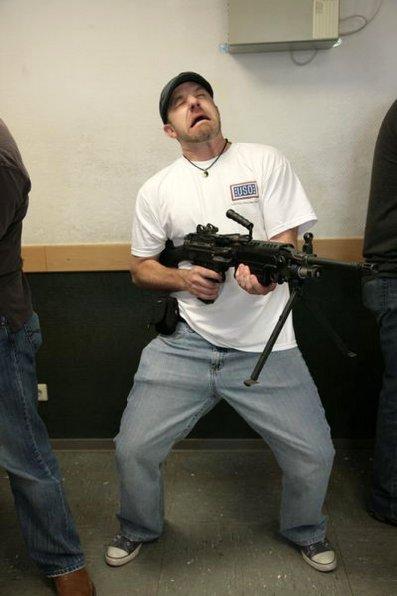 397silver with gun