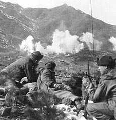 korean-war-artillery