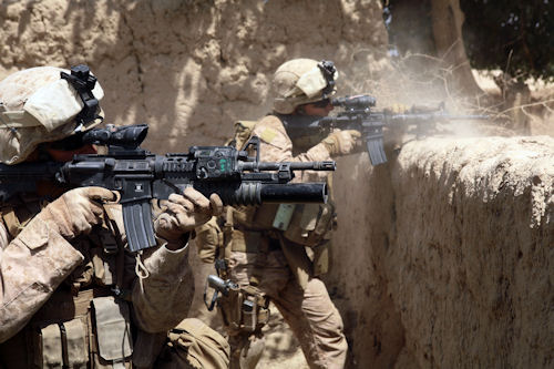 (DoD photo by Sgt. Pete Thibodeau, USMC)