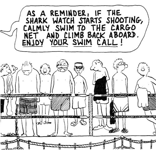 captain swim call