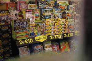 the works, books, 2 for £10, mix and match, games