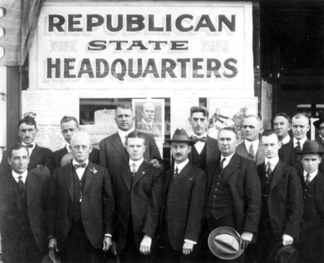 Leaders of the Arkansas Republican Party, 1916 Courtesy of Special Collections, University of Arkansas Libraries, Fayetteville