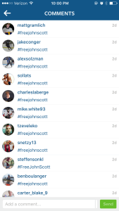 The Free John Scott Movement on Instagram