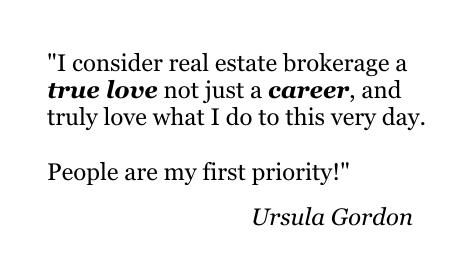 Ursula Gordon /Cell: 603-325-5852